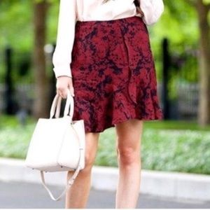 BANANA REPUBLIC Abstract Flowy Mini Skirt